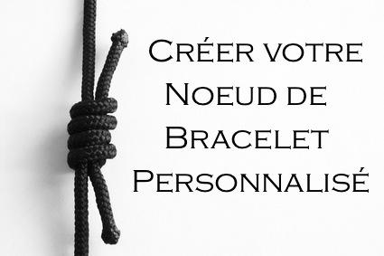 faire un noeud pour bracelet