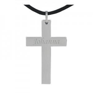 Pendentif croix personnalisé 0134